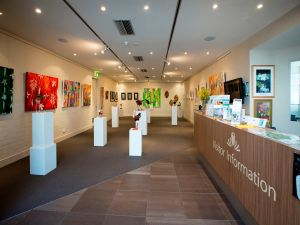 Australian National Botanic Gardens Visitor Centre Gallery - Accommodation Mermaid Beach
